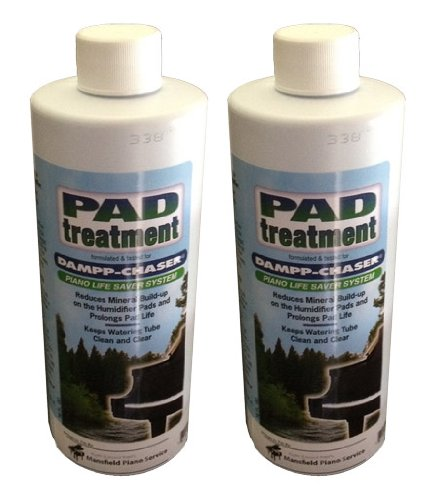 Dampp Chaser Piano Humidifier Pad Treatment 16 oz Bottle Value Pack - 2/pack