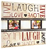 MCS MBI 13.5x12.5 Inch Filmstrip Scrapbook Album with 12x12 Inch Pages with Two Photo Openings (860107)