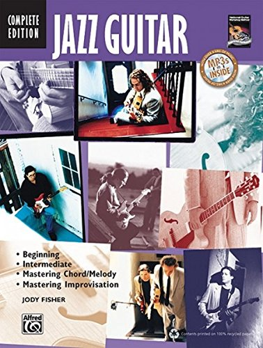Jazz Guitar, Complete Edition (Book & CD) [Jody Fisher] (Tapa Blanda)