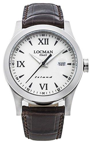 LOCMAN watch ISLAND 0614A05-00AVBKPN Men's