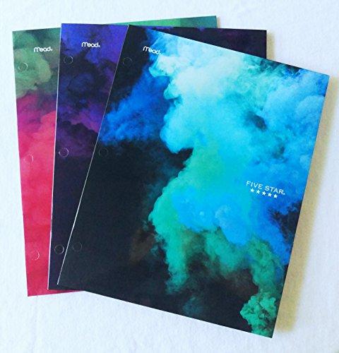 Mead Five Star Spectral Smoke Portfolio Folder (3 Pack)