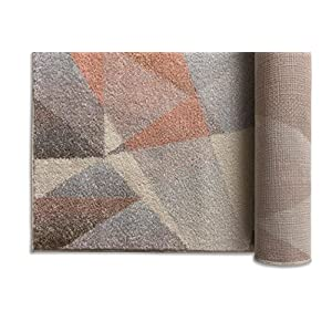 """Well Woven Vettore Naomi Modern Abstract Geometric Tranquil Pink Area Rug 7'10"""" x 10'6″"""