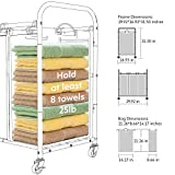 ROMOON Laundry Sorter, 3 Bag Laundry Hamper Sorter
