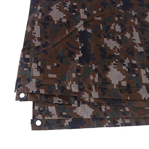 Per Multifunzione Poncho Da Rainwear Digital Emergency Yosoo Militare Portable Nylon Ciclismo Camouflage Ripstop Borse Impermeabile Escursionismo Camo Rain Viaggio Campeggio ZOqdwYw