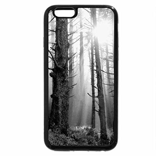 iPhone 6S Plus Case, iPhone 6 Plus Case (Black & White) - Sanguine