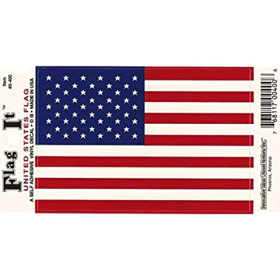 United States Heavy Duty Vinyl Bumper Sticker (3 x 5 Inches): Automotive
