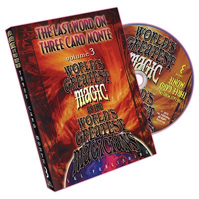 The Last Word on Three Card Monte Vol. 3 by L&L Publishing - DVD