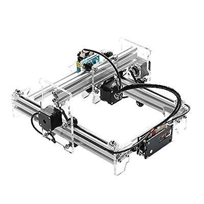 KKmoon 2500mw USB Laser Engraving Carving Machine EleksLaser A5 Pro Engraver Carver DIY Laser Printer with Protective Glasses