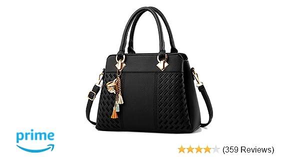 f229c7f8da Amazon.com  Charmore Womens Handbags Ladies Purses Satchel Shoulder Bags  Tote Bag  Shoes