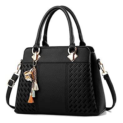 Amazon.com  Charmore Womens Handbags Ladies Purses Satchel Shoulder ... 515ffd246