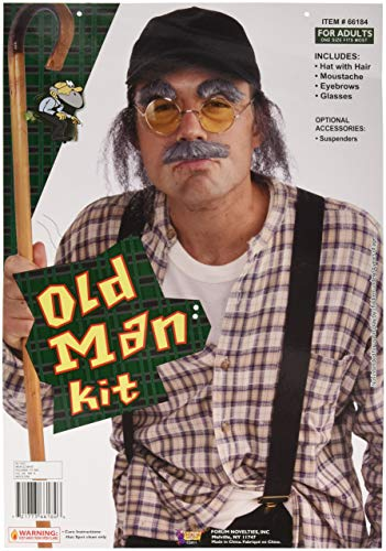 Forum Novelties Grumpy Old Man Instant Costume