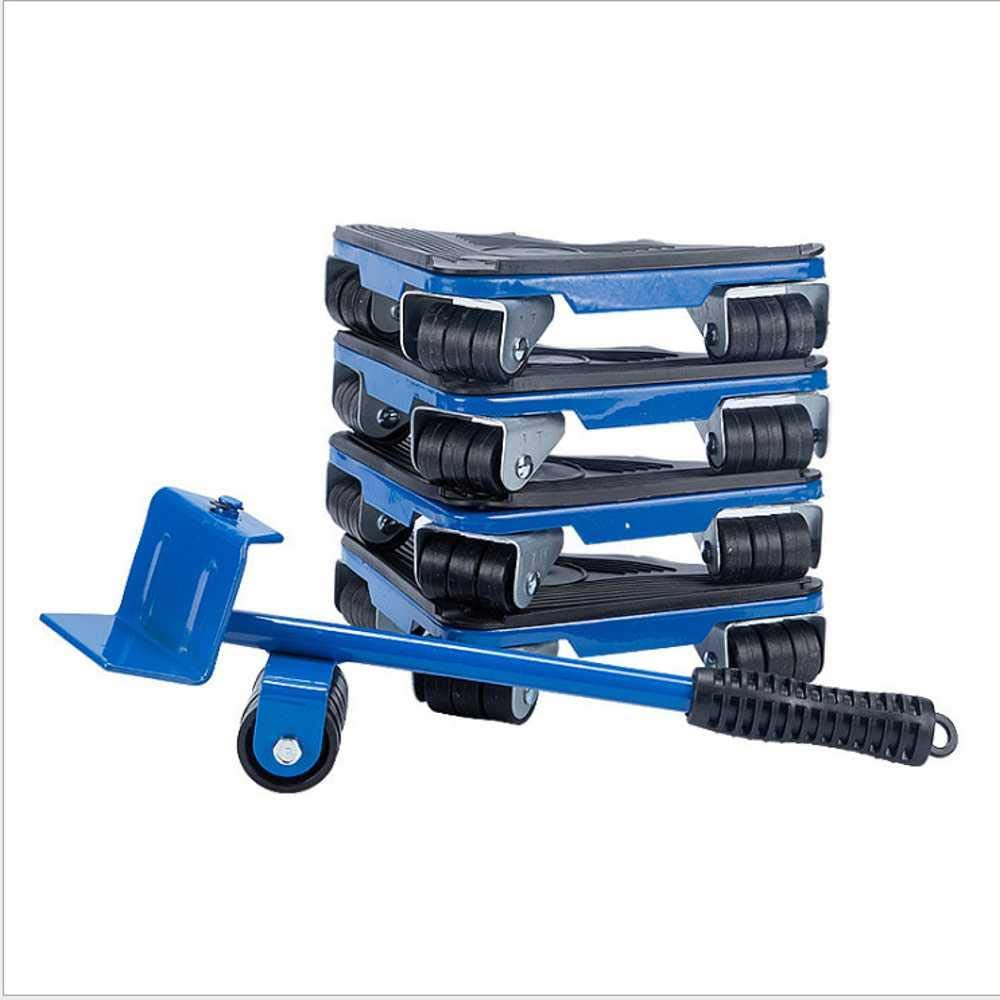 Heavy-Duty Furniture Moving Tool Roller Slider, Furniture Lifter, Furniture Roller Movement Tool, 360-Degree Rotation, Maximum Load 450kg / 990 Lb