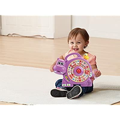 VTech Spinning Lights Learning Hippo: Toys & Games