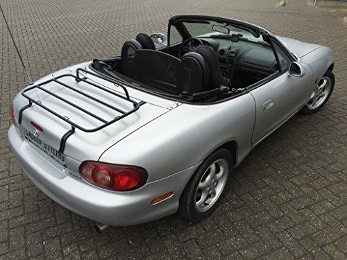 Mazda MX5 NB portaequipajes - Black Edition 1998 - 2005: Amazon.es: Coche y moto