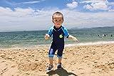 HUANQIUE Baby Toddler Boy Swimsuit Rash Guard Short