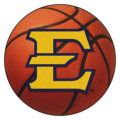 (FANMATS NCAA East Tennessee State Univ Buccaneers Nylon Face Basketball Rug)
