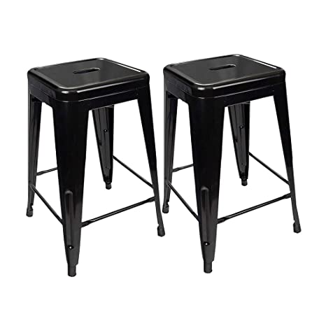 Fine Amazon Com Gy Metal Bar Stool 2 Piece Set 30 Inches Andrewgaddart Wooden Chair Designs For Living Room Andrewgaddartcom
