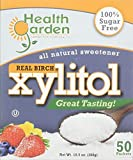 HEALTH GARDEN Xylitol Sweetener Packets 50 Piece, 0.02 Pound Review