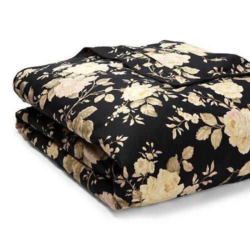 Ralph Lauren Winter Rose Floral Full / Queen Duvet Cover