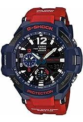G-Shock GA-1100 Gravitymaster Stylish Watch - Blue / One Size
