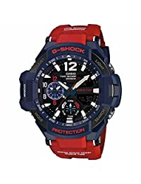 Casio - G-Shock - GRAVITYMASTER Series - Blue/Red - GA1100-2A