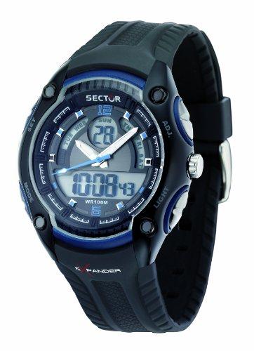 Sector 3251574003 White Rubber Band Men's & Women's Watch