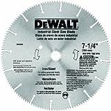 DEWALT DW3330 7-1/4-Inch Iron and Steel Cutting Segmented Saw...