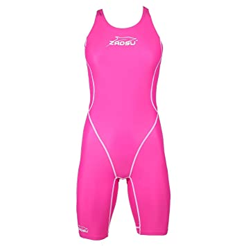 2d747d5bed0c5b ZAOSU Wettkampf-Schwimmanzug Z-Pink , Größe:128: Amazon.de: Sport ...