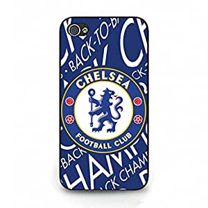 Cover Case Chelsea FC Logo Phone Case Fantastic Fine CFC Chelsea Mark Back Snap on Iphone 4/4s