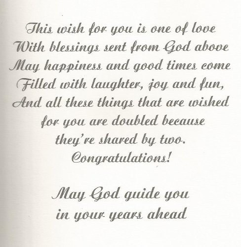 Amazon May God Bless Your Wedding Day W Stationery Notepads Office Products