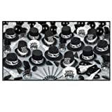 Grand Deluxe Silver New Year's Eve Party Assortment for 50