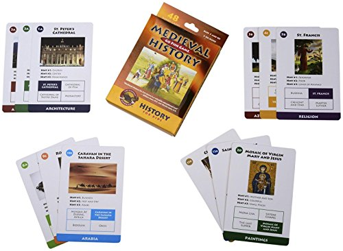 The Classical Historian Medieval History Go Fish Game