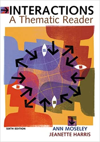 In conversation a thematic reader for critical thinking