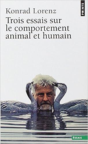 Livres gratuits en ligne Trois essais sur le comportement animal et humain pdf