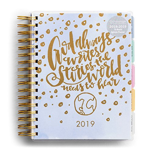 DaySpring (in) courage - God Always - 2019 18-Month Agenda Planner