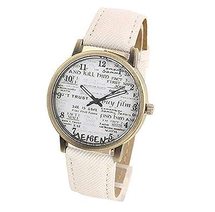 Relojes de cuarzo unisex de la marca ICHQ para hombre y mujer, estilo casual,
