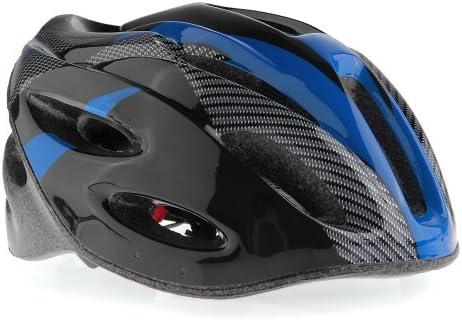 Casco Ciclismo Con Visera Azul Bici Bicicleta Mountain bike Helmet ...
