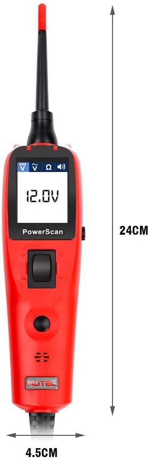 Electrical System 12V//24V Car Auto Circuit Diagnostics Test Tool WLLP Automotive Circuit Tester