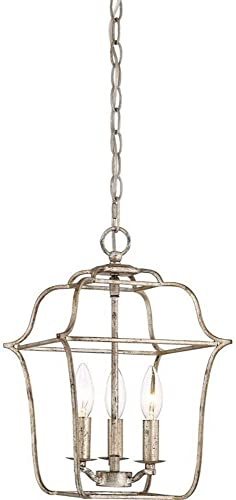 Quoizel GLY5203CS Gallery Lantern Foyer Pendant Lighting