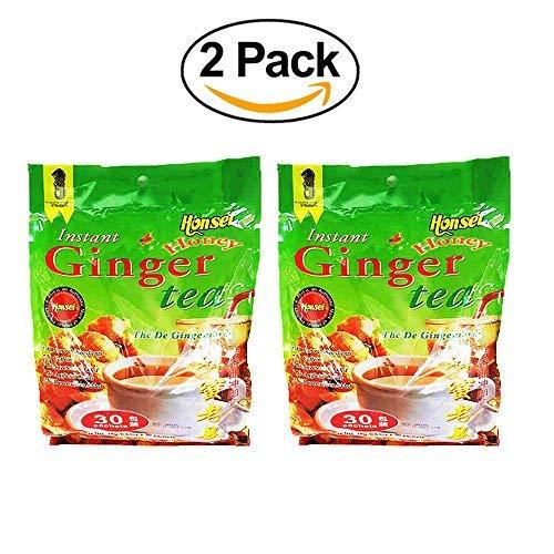 (Honsei Instant Honey Ginger Tea (60 Sachets) 18G/0.63oz-)