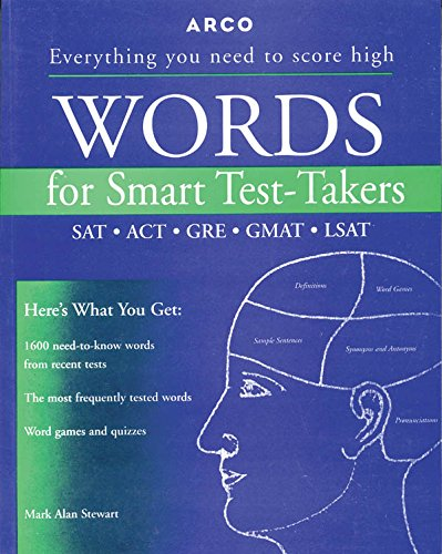 Buy Word for Smart Test Takers Book Online at Low Prices in
