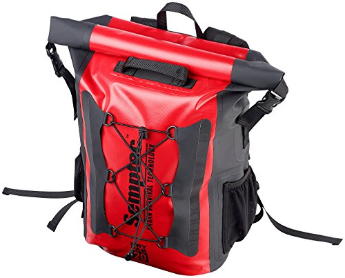 512yRevtJoL Semptec Urban Survival Technology Wasserfester Rucksack: Wasserdichter Trekking-Rucksack aus LKW-Plane, 20 Liter, IPX6…