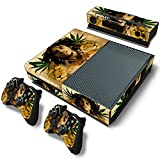 CSBC Skins Xbox One Design Foils Faceplate Set - Bob Marley Design