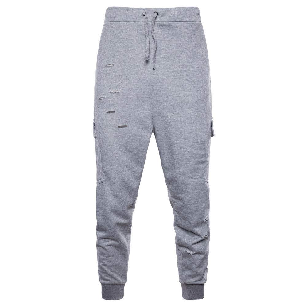 Easytoy Mens Outdoor 2 Piece Hooded Sweatshirt Sweatpants Track Suit Sport Sweat Suit Set Black, Asian Size:S