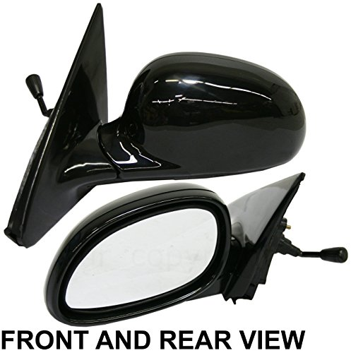 Door Hatchback Drivers Side Manual (HONDA CIVIC 92-95 SIDE MIRROR LEFT DRIVER, Manual Remote, Coupe/Hatchback)