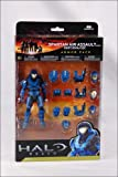 Halo Reach Series 4 Spartan Air Assault Figure & 3 Sets Of Armor - Team Blue Action Figure 2-Pack