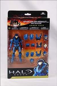 Halo Reach Serie 4 - Armadura de Asalto Aéreo Pack (Blue) Acción