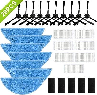 SAFETYON Accesorios para Robot Aspirador ILIFE V3 V5 V5S V5S Pro ...