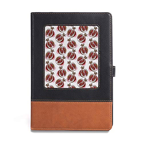 - Durable Journal Writing Notebook,Fruits,A5(6.1
