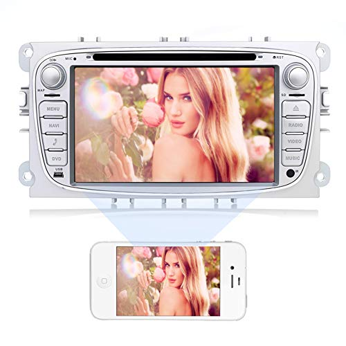 Double Din Car Stereo for Ford,Android 7.1 in-Dash GPS Navig